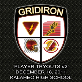 Hawaii Gridiron League Tryouts #2
