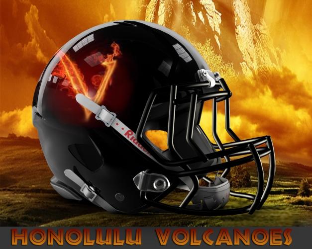 Honolulu Volcanoes Owner / Head Coach: Darrick Branch Asst Head Coach: Dean Nakagawa Colrs: Gray, Black and Orange Email: Volcanoes@gridironhawaii.com Phone: 808-218-4060