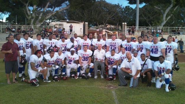 Team USA Football All Stars