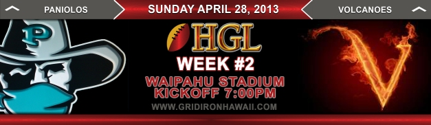HGL Week #2 Game of the Week