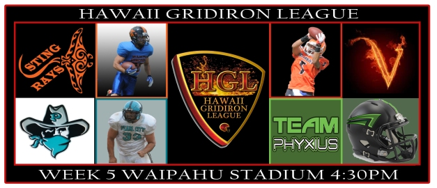 HGL Week 5 Matchups