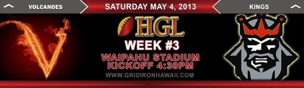 HGL Matchup Week 3 Game #1