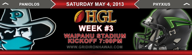 HGL Matchup Week 3 Game #2