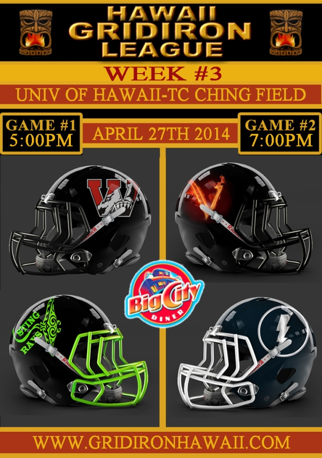 Week 3 Game Flyer