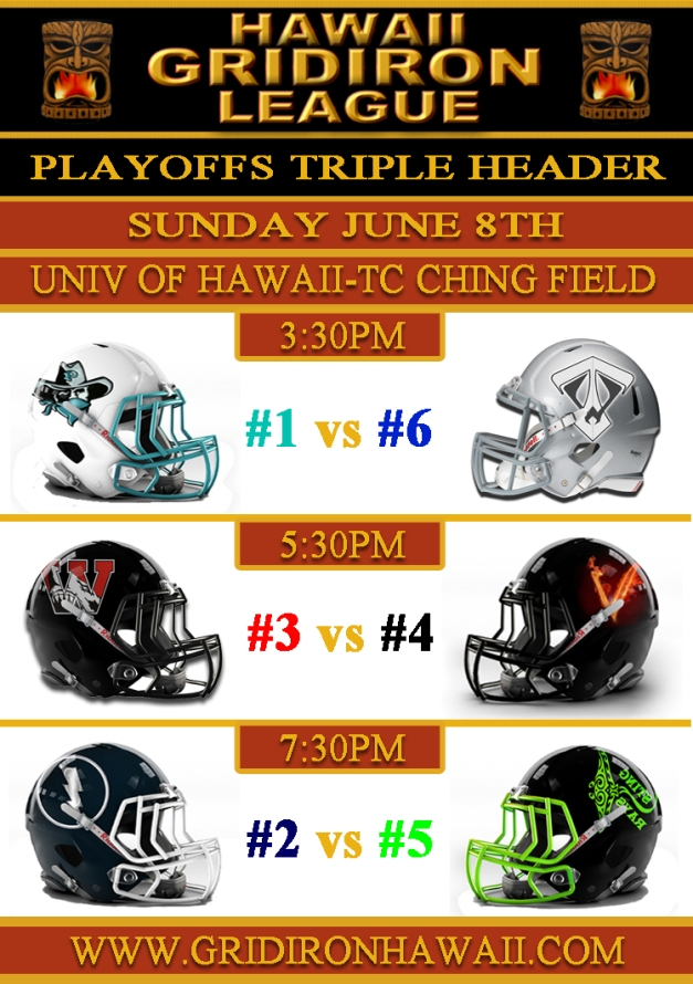 2014 HGL Game Flyer Playoffs Round 1