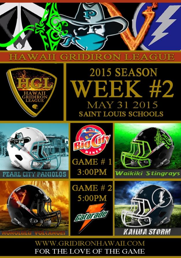 2015 HGL Week 2 Flyer