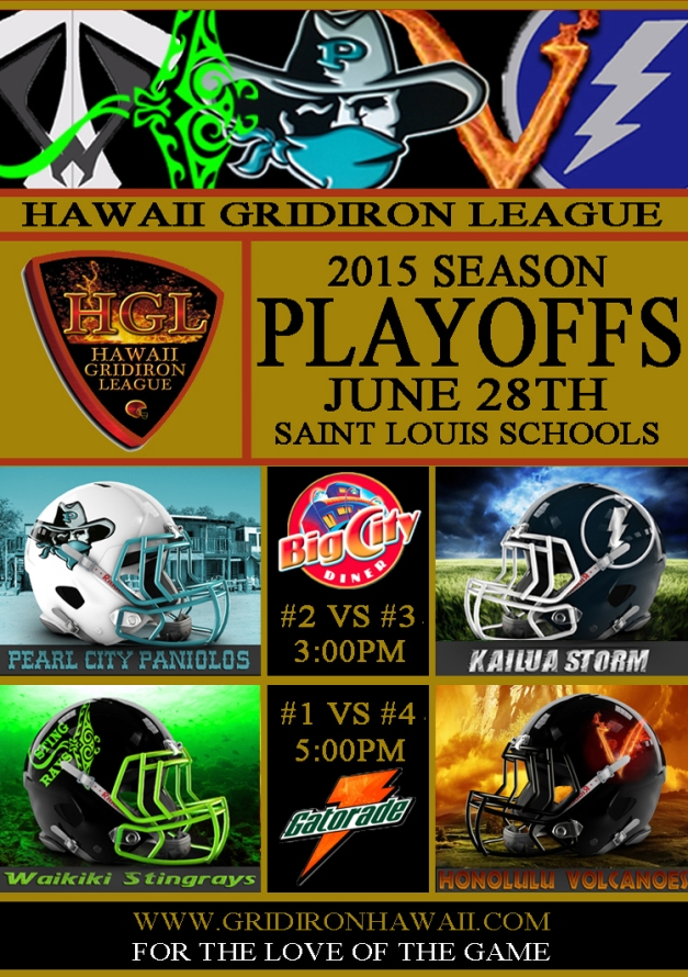 2015 HGL Playoffs Flyer