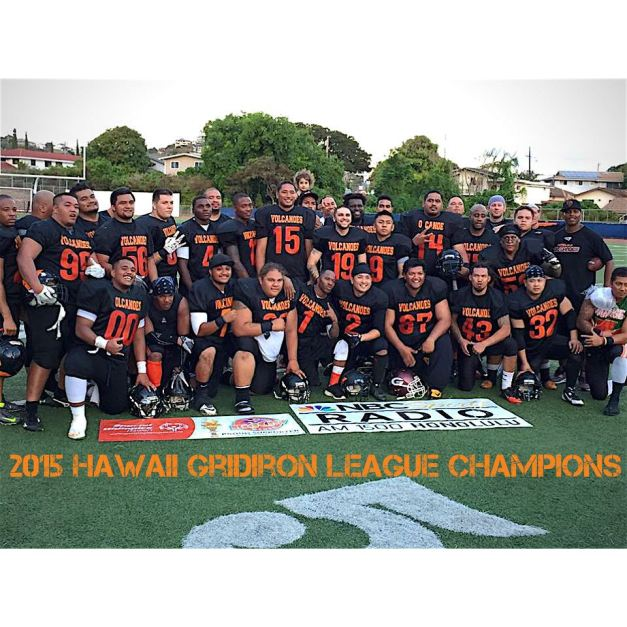 Honolulu Volcanoes 2015 Champions